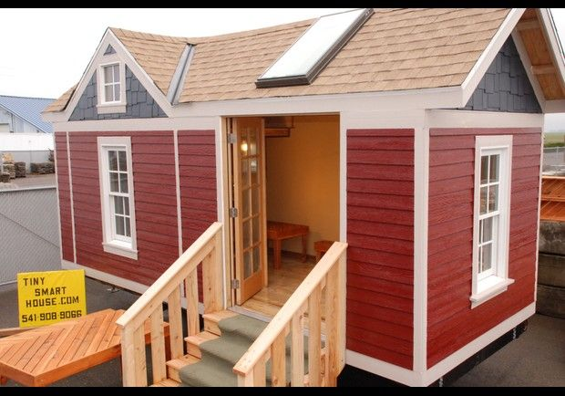 Tiny smart house where albany oregon price 24 400 for Cost to build craftsman home