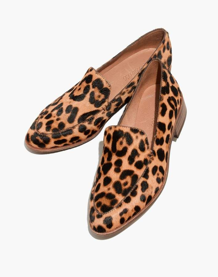 34d99684737 The Frances Loafer in Leopard Calf Hair in 2019   Products   Shoes ...
