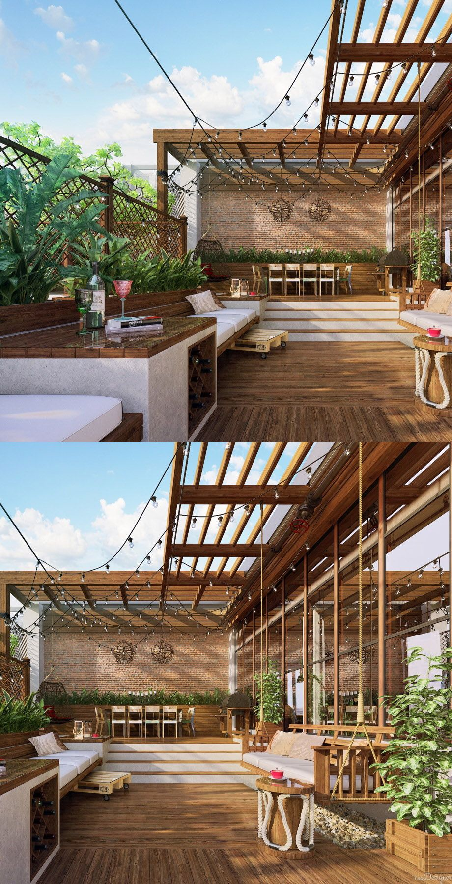 1000+ images about Balconies and rooftop gardens on Pinterest ...