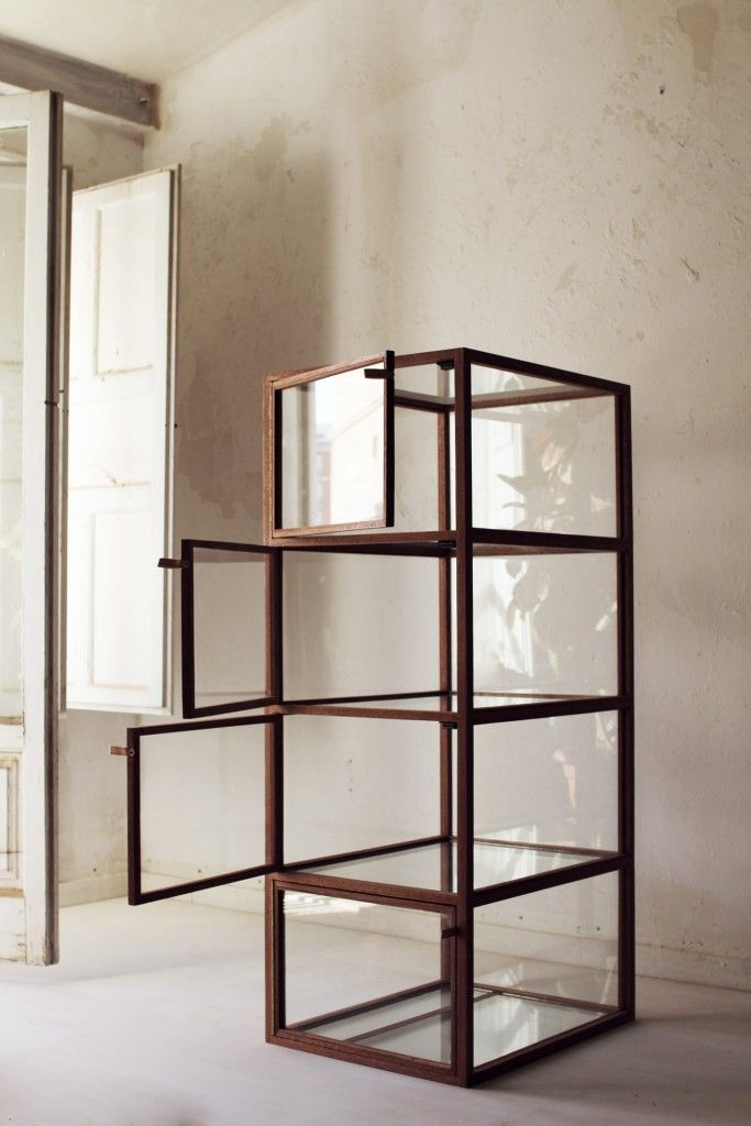 Vitrina#1. Taller Piccolo | Iron & Wood | Pinterest