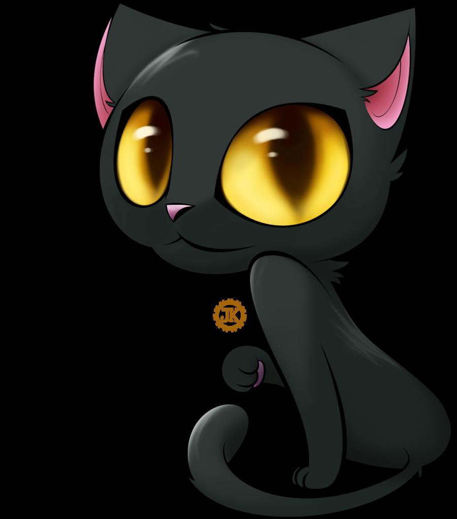 Black Cat Cartoon Cliparts.co Cute black cats, Black