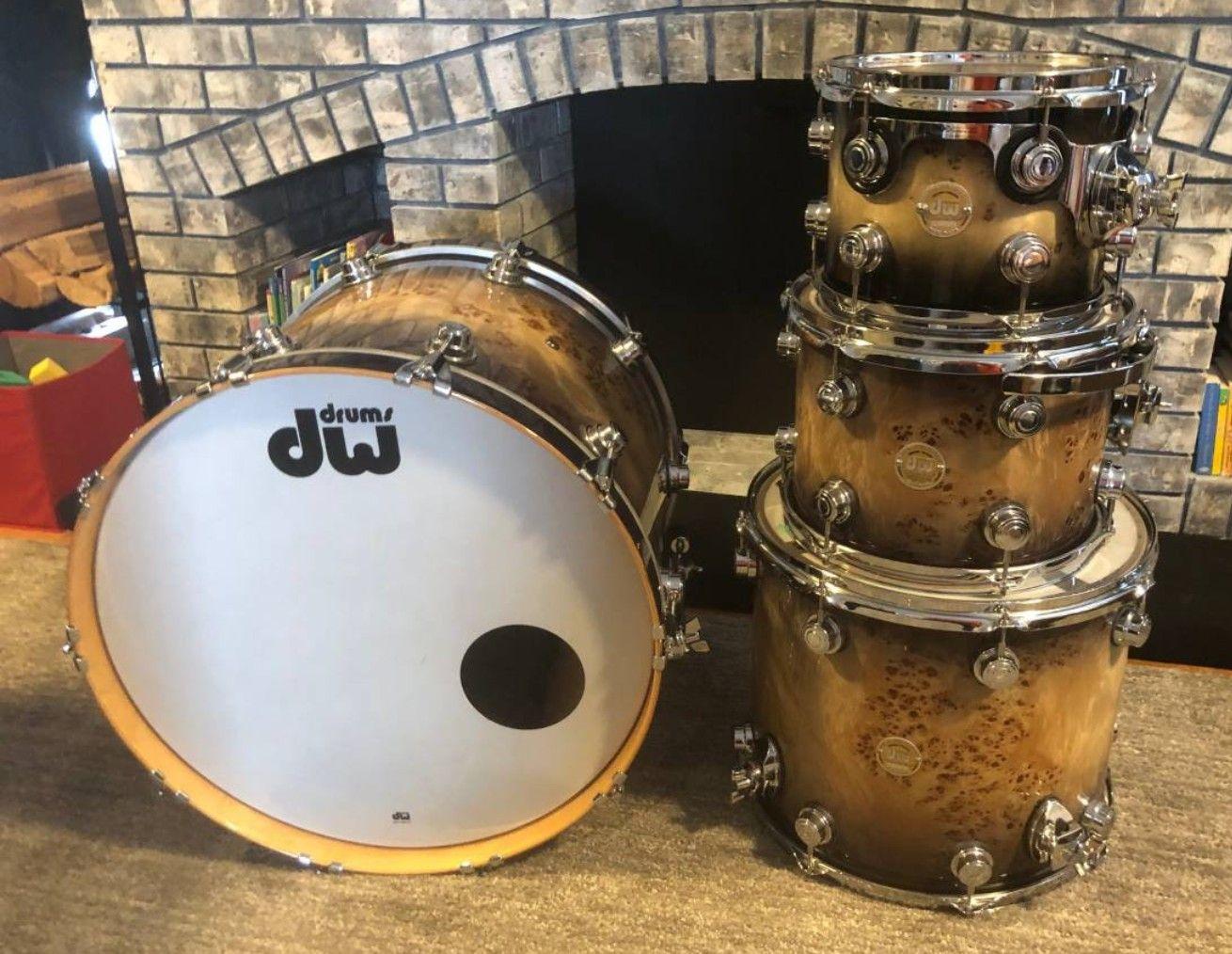 Pin de Terry Nugent em DW Drums