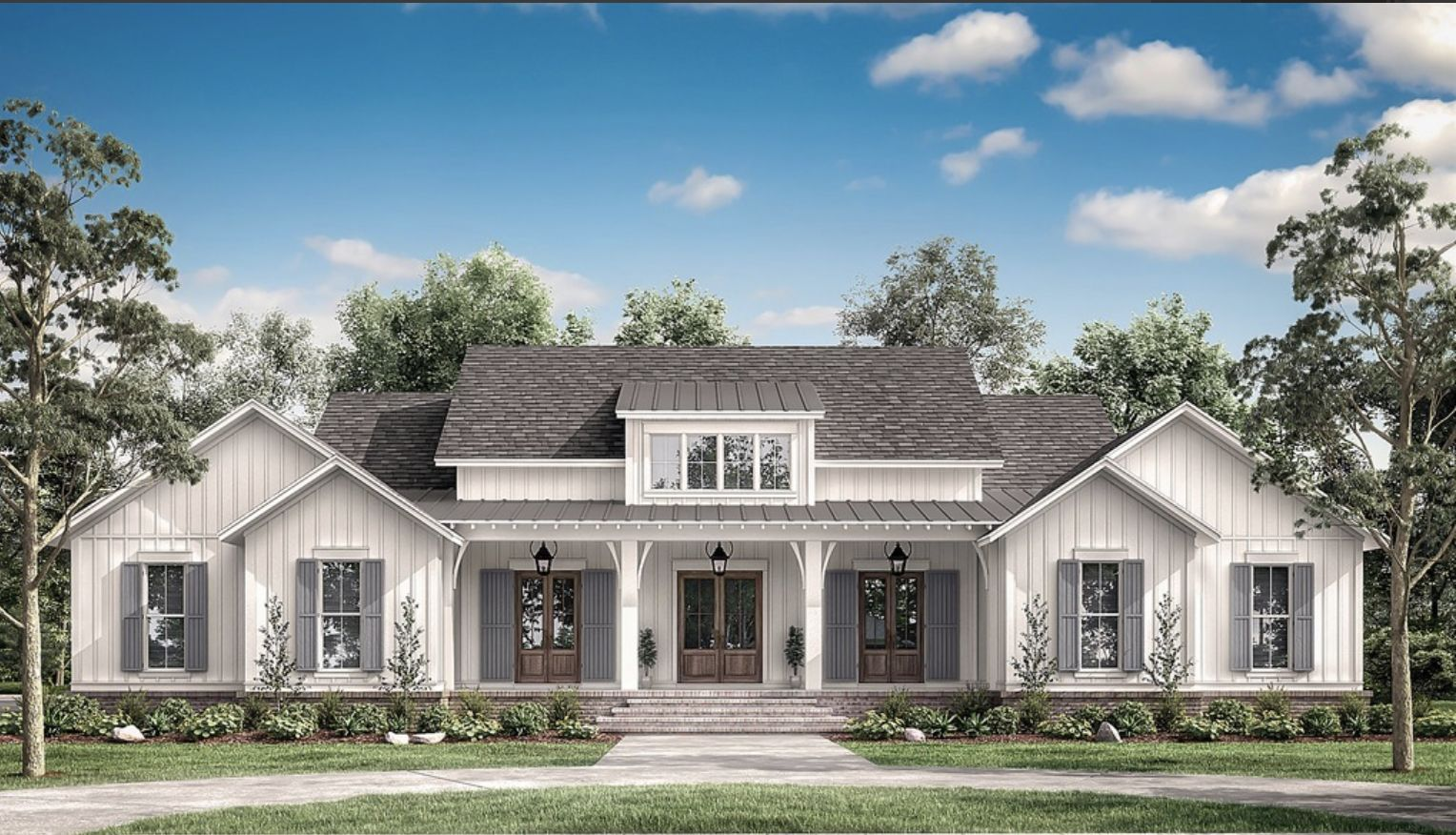 15++ Modern farmhouse elevations type