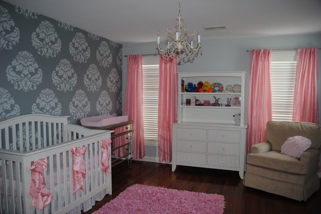 baby girl nursery on - photo #4