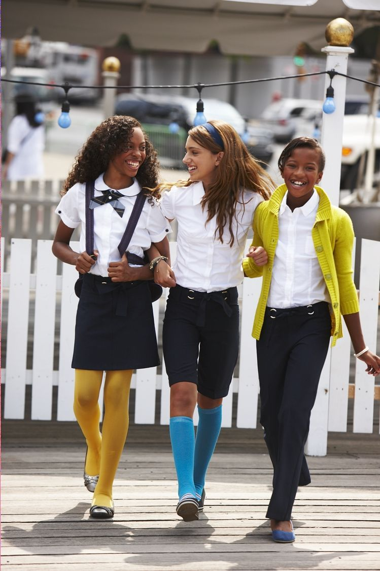 School uniform | suspenders | knee socks (14Jl)