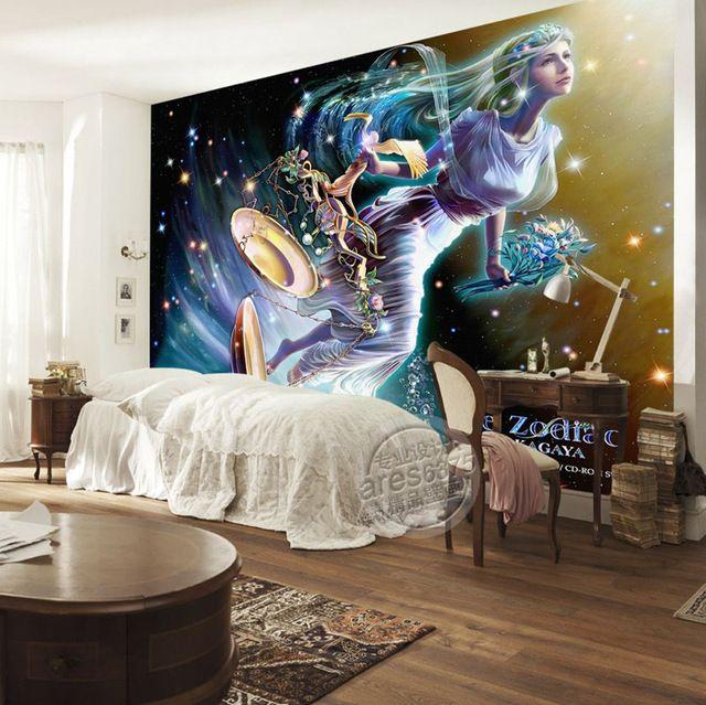 Libra wallpaper brilliant galaxy photo wallpaper custom 3d for 3d interior wallpaper