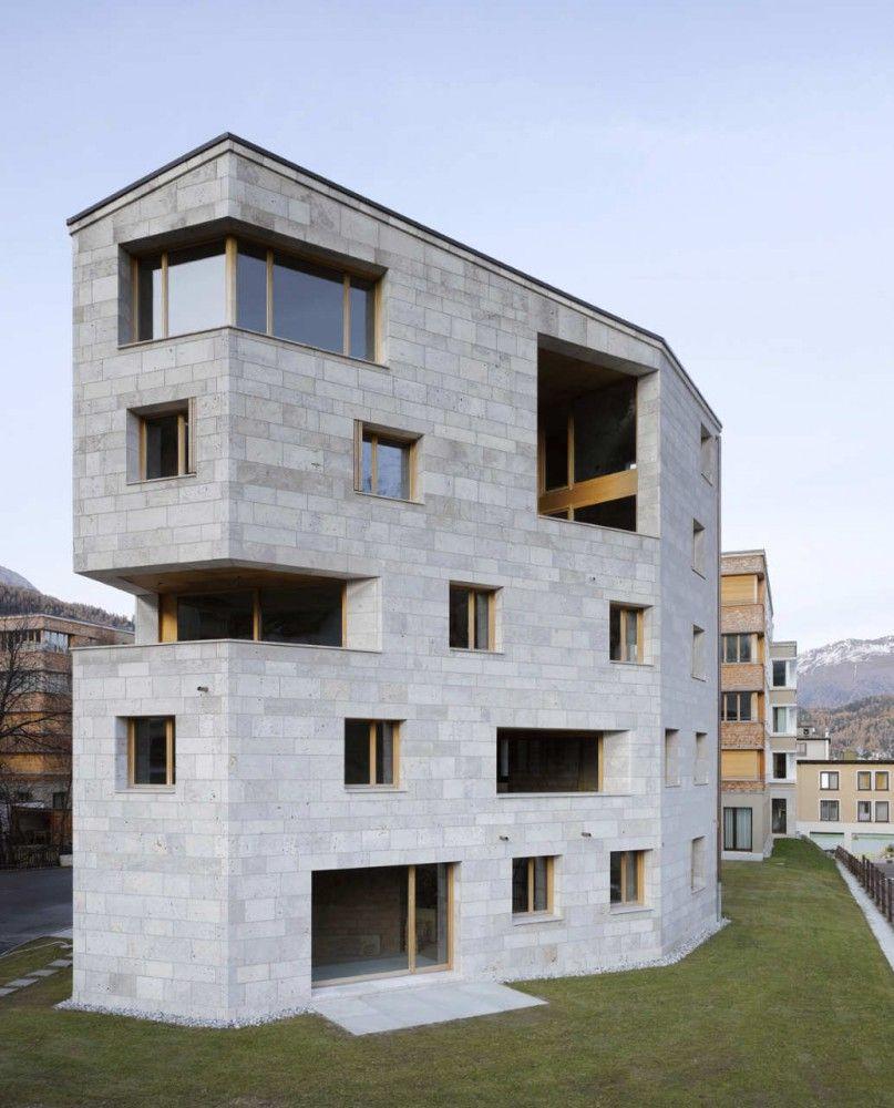 Apartment Building Buff / Pablo Horváth   Anbau, Fassaden und ...