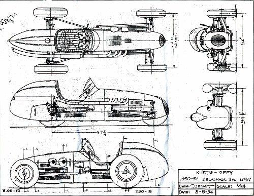 imagenes de los planos del chasis del ford cobra