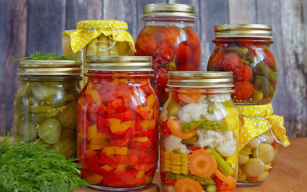Картинки консервирования овощей