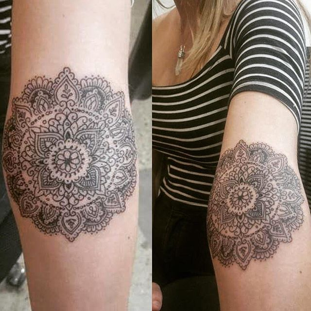 Jaw Drop Ink Tattoos: Master Mandala @rady213 Back With Another One Of Those Jaw