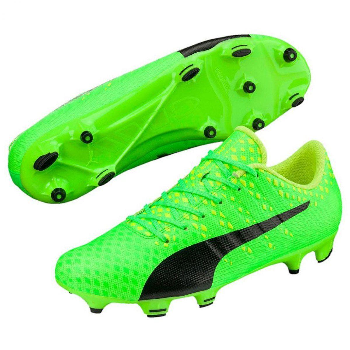 Buty Pilkarskie Puma Evo Power 3 Fg 103956 01 Zielone Zielone Soccer Shoes Shoes Shoes Mens
