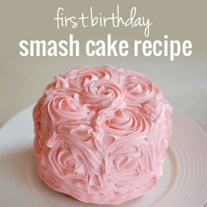 how to make a smash cake for a first birthday birthdays round on cake pans for babys first birthday