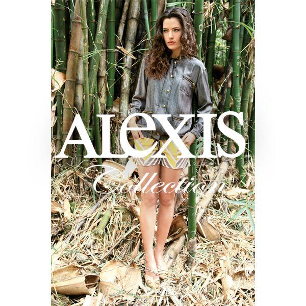 Los detalles de cierres y botones en la primavera-verano de Alexis.