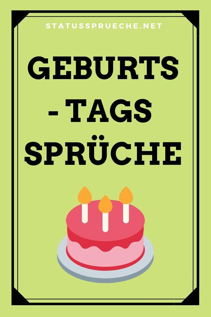 Geburtstagsspruche Und Mehr Spruche Zum Geburtstag Spruche