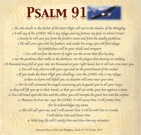 photo about Psalm 91 Printable identified as Psalm+91+Prayer+Print+Out Constructed by means of
