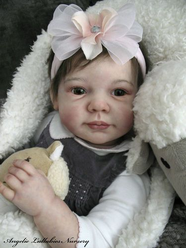 Ann Timmerman Chloe Newborn Toddler Reborn Baby Girl ...