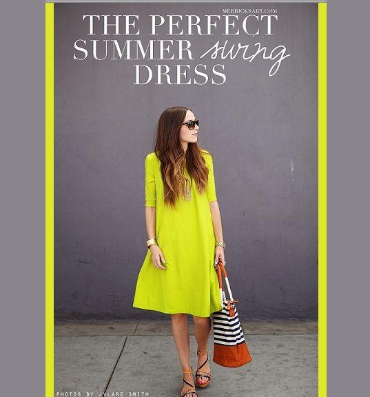 Summer Swing Dress Tutorial