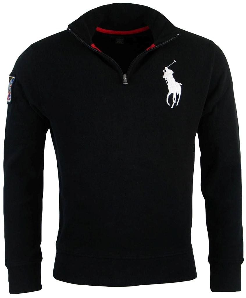 Polo Ralph Lauren Mens French Rib Big Pony Logo Pullover S