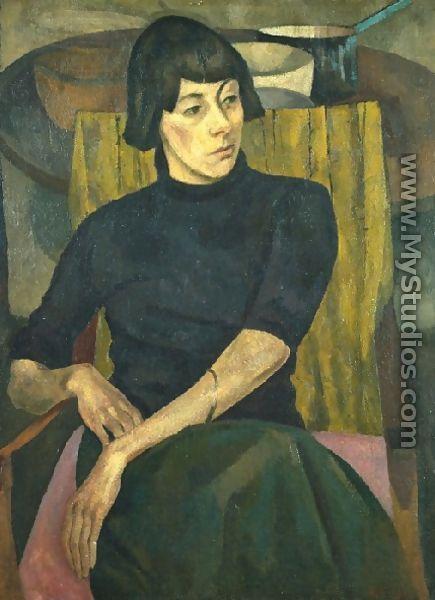 Roger Fry, Portrait Of Nina Hamnett