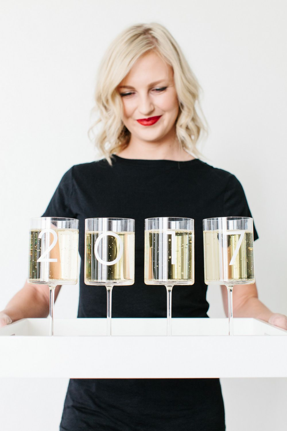 4 Darling DIY New Year's Eve 2017 Projects | The TomKat Studio
