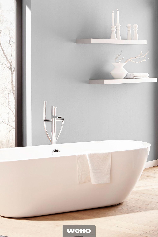 Eine Freistehende Badewanne Ist Der Inbegriff Des Modernen Luxus Bads Bad Badezimmer Badewanne Freistehend Wohnide Freistehende Badewanne Badewanne Baden