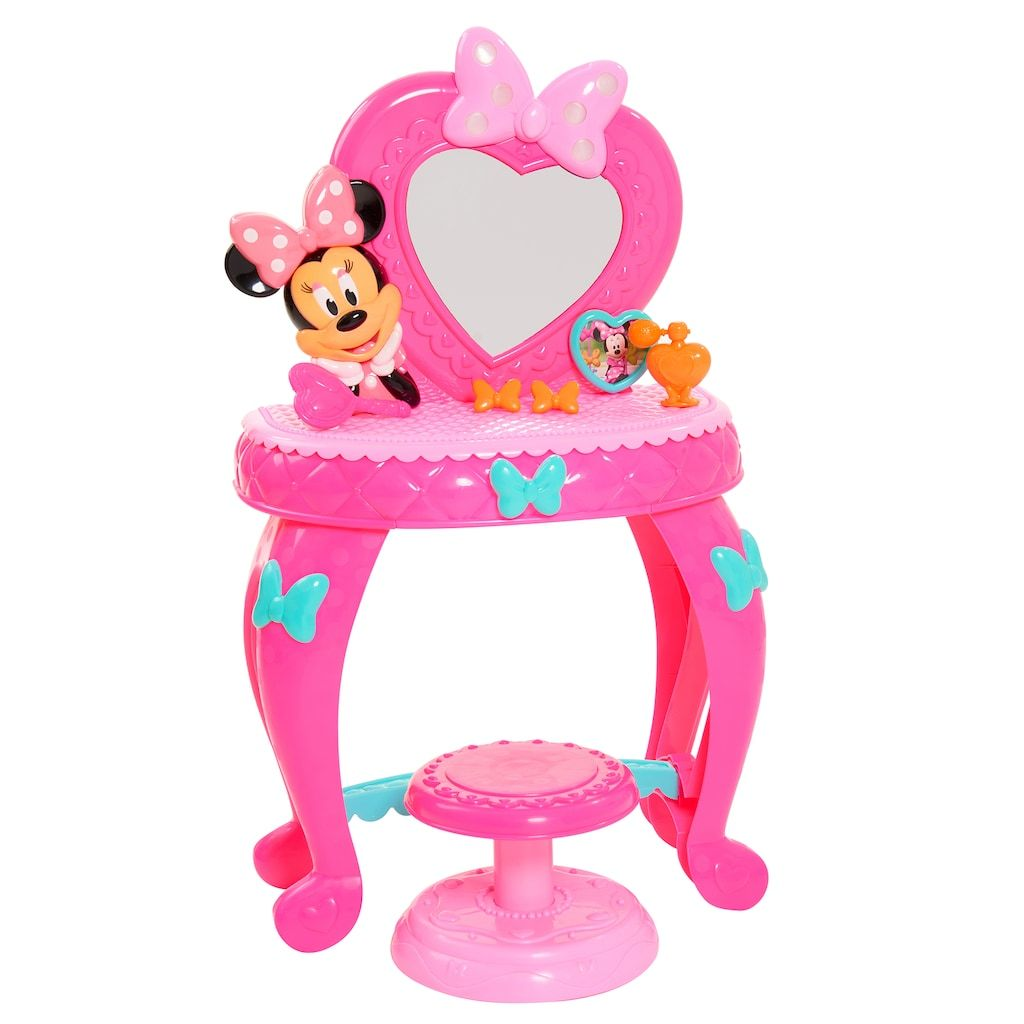 Disney S Minnie Mouse Minnie Bowdazzling Vanity Minnie Toys Minnie Mouse Toys Toys For Girls