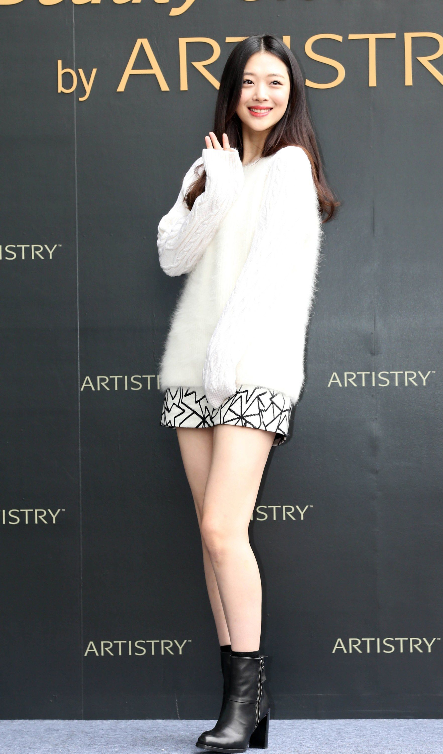 Korean Actress And Former K Pop Star Sulli Style Style Star Fashion Korean Fashion