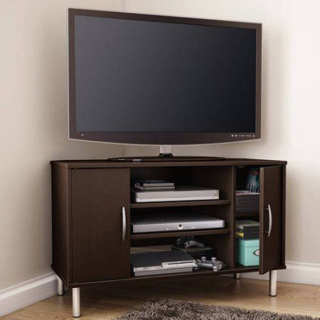 South Shore Renta Corner Tv Stand For Tvs Up To 42 Inch Multiple