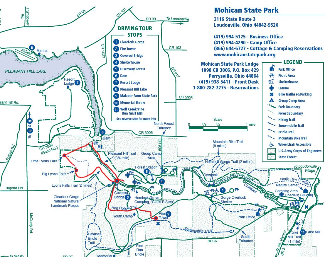Mohican State Park Map Mohican State Park trail map | Ohio | State parks, Park trails, Park Mohican State Park Map