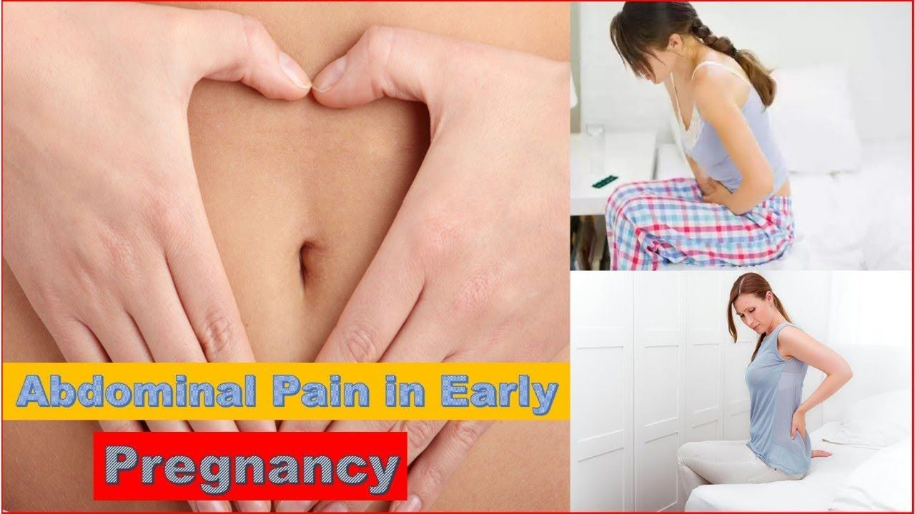 Abdominal Pain in Early Pregnancy before Missed Period