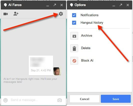 How to Disable Hangout History via Google+ | Google+ for Educators