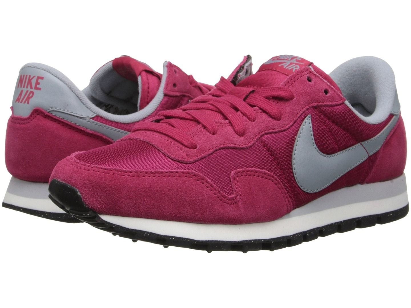 Womens Shoes Nike Air Pegasus '83 Fuchsia Force/Sail/Black/Light Magnet Grey