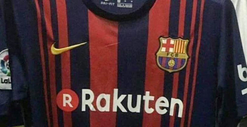 Primera foto de la camiseta del FC Barcelona 17 18   474d372b629