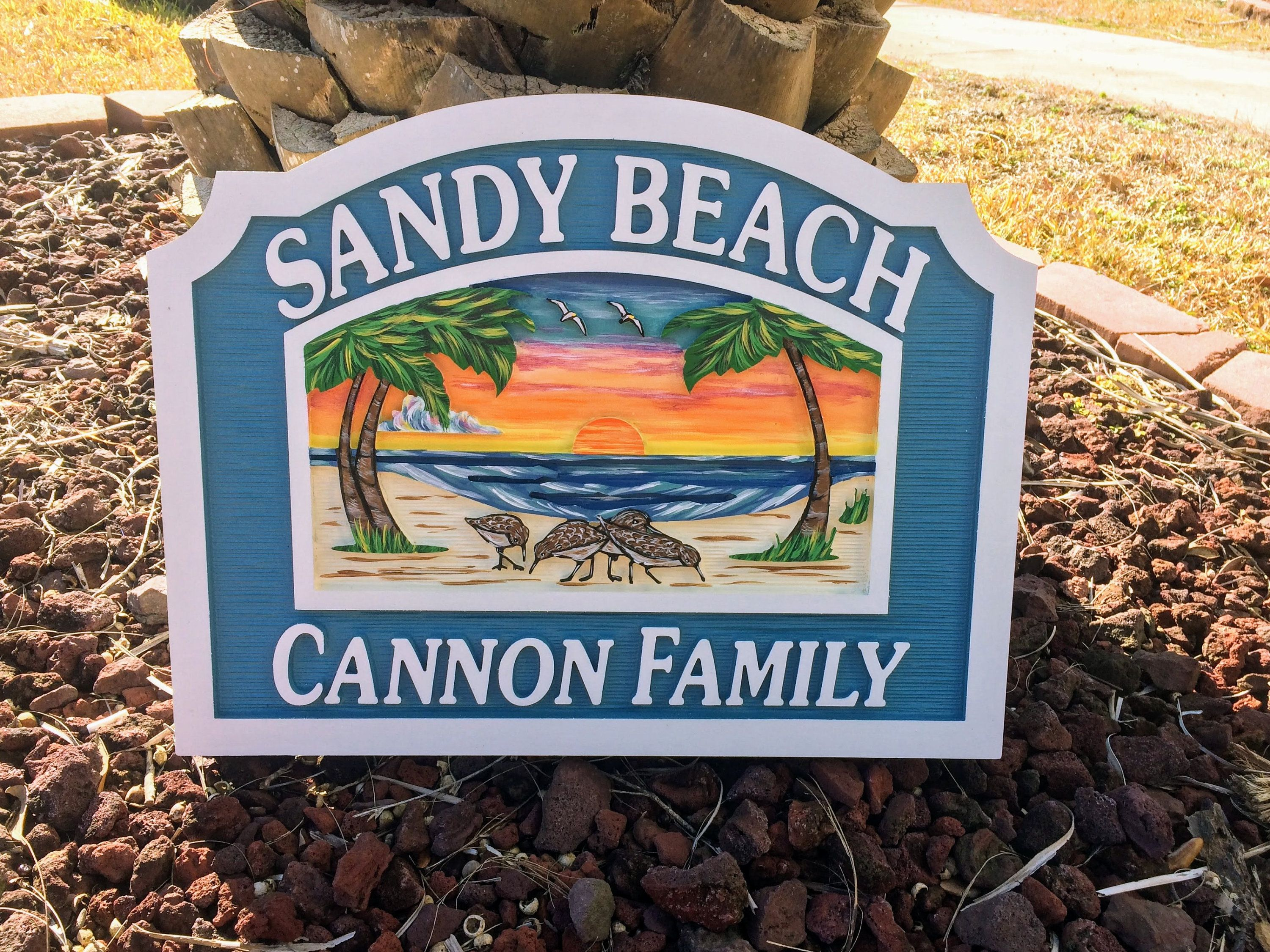 Beach House Signs Custom Signs Misc Signs Personalized House