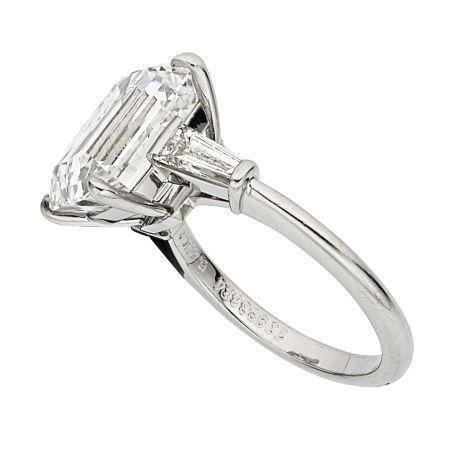 Diamond Platinum Ring Tiffany Co Price Estimate 200000