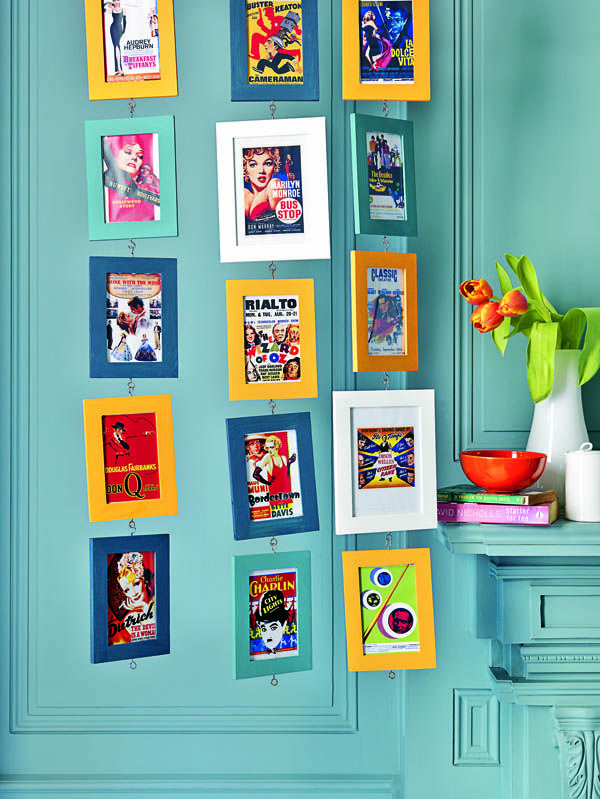 Colorful Frames With Vintage Movie Posters People Who Do Crazy