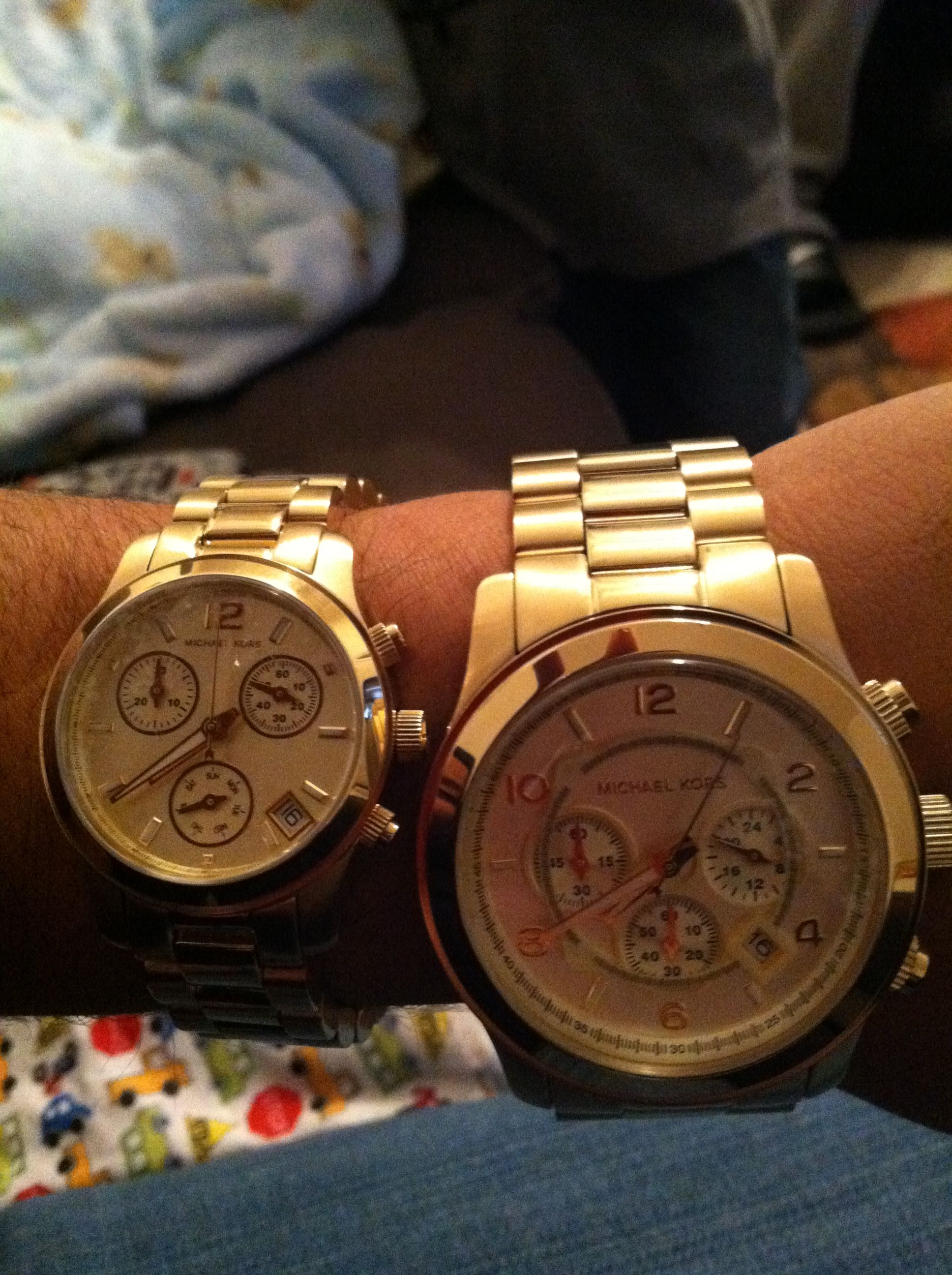 His and Hers Watches!! MK Michael kors collection