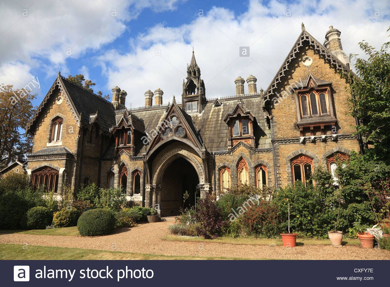 Holly Village Victorian Gothic Houses At Highgate London