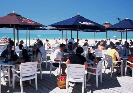 Waterfront Dining At The Sandbar Restaurant On Anna Maria Island Florida