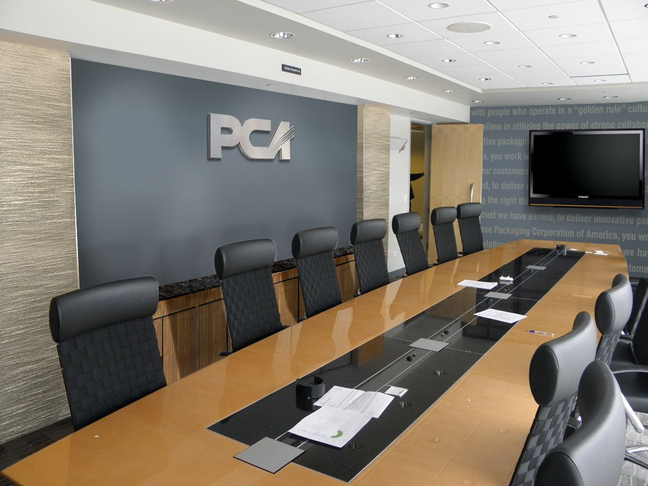 corporate interiors can stimulate the interests of your customer base the moment they enter your building