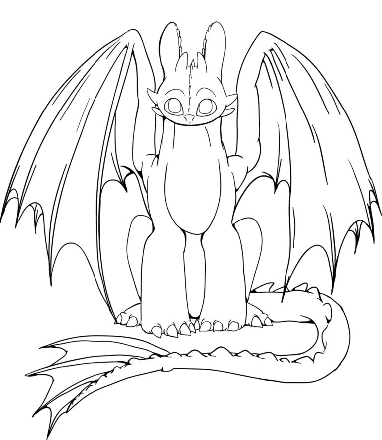Baby Ohnezahn Ausmalbilder Dragon Coloring Page How Train Your Dragon Coloring Pages For Kids