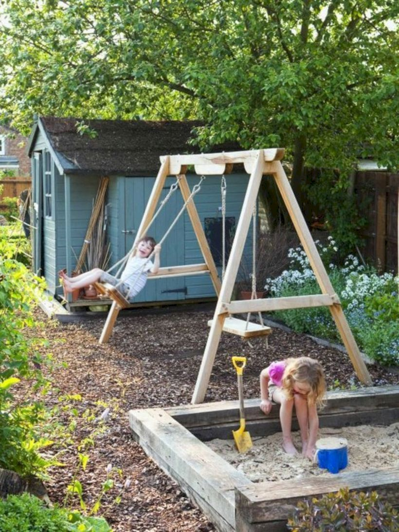56 Home Garden Decoration To Play With Children