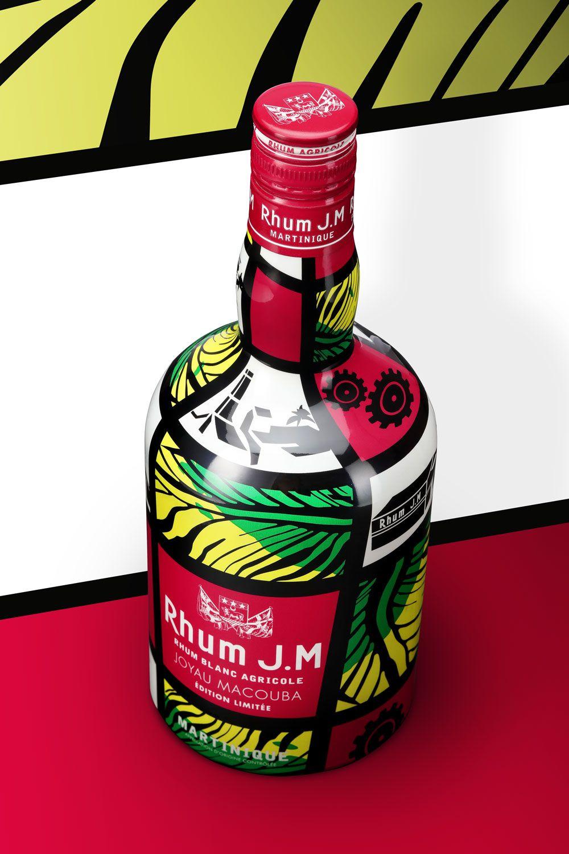 Rhum J M Joyau Macouba Limited Edition Alcohol Packaging Creative Packaging Design Limited Edition Packaging