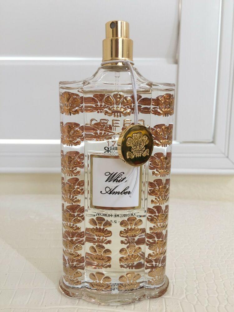 CREED WHITE AMBER Men Women Parfum France EDP Full 2.5 oz