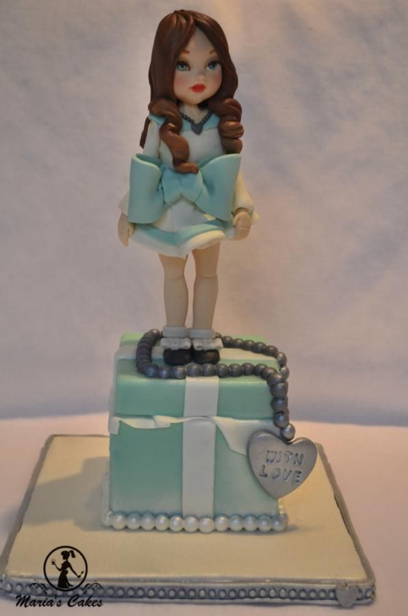 Tiffany - Cake by Marias-cakes