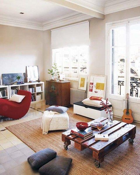 Acogedor piso antiguo remodelado en barcelona 06 deco - Decorar piso antiguo ...
