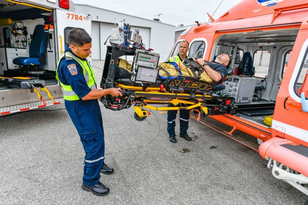 Ornge powers up fleet stretcher system with helimods