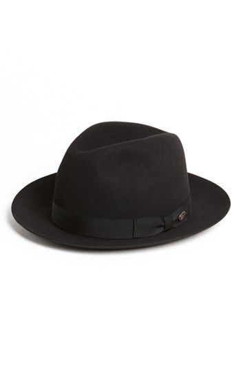 Free shipping and returns on Bailey Genuine Rabbit & Beaver Hair Fedora at Nordstrom.com. A tonal grosgrain ribbon and logo medallion trim a timeless, American-made fedora.