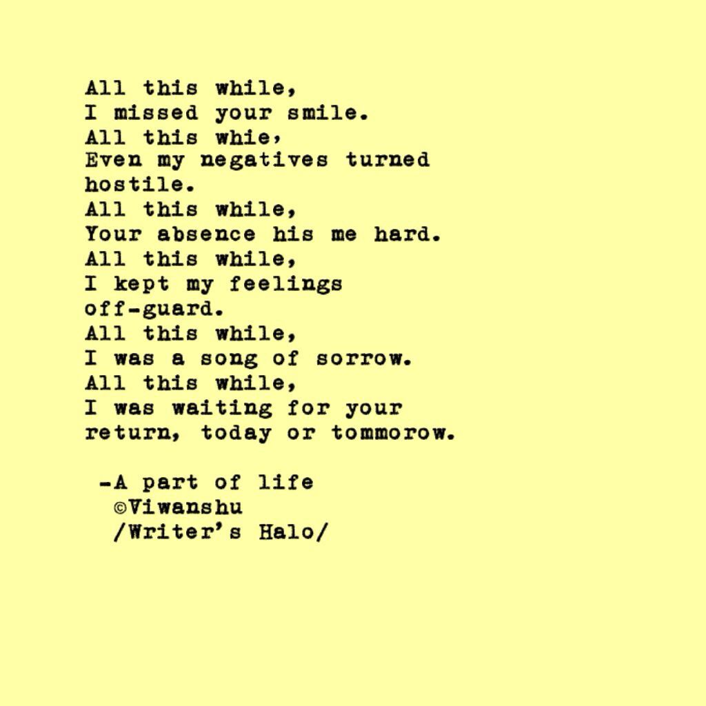 Smile poems and quotes - All This While I Missed Your Smile Poemssmile3