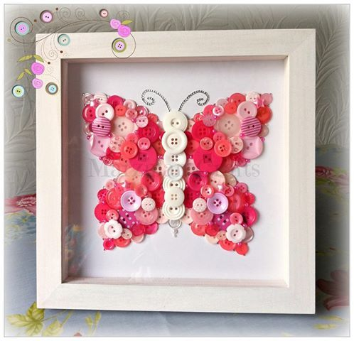 little girl craft ideas - Google Search So adorable! frames - cuadros para decorar